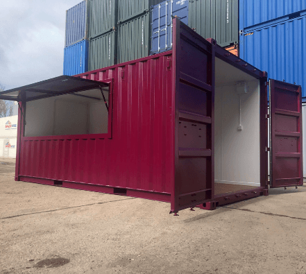 Container conversion by Gap Containers