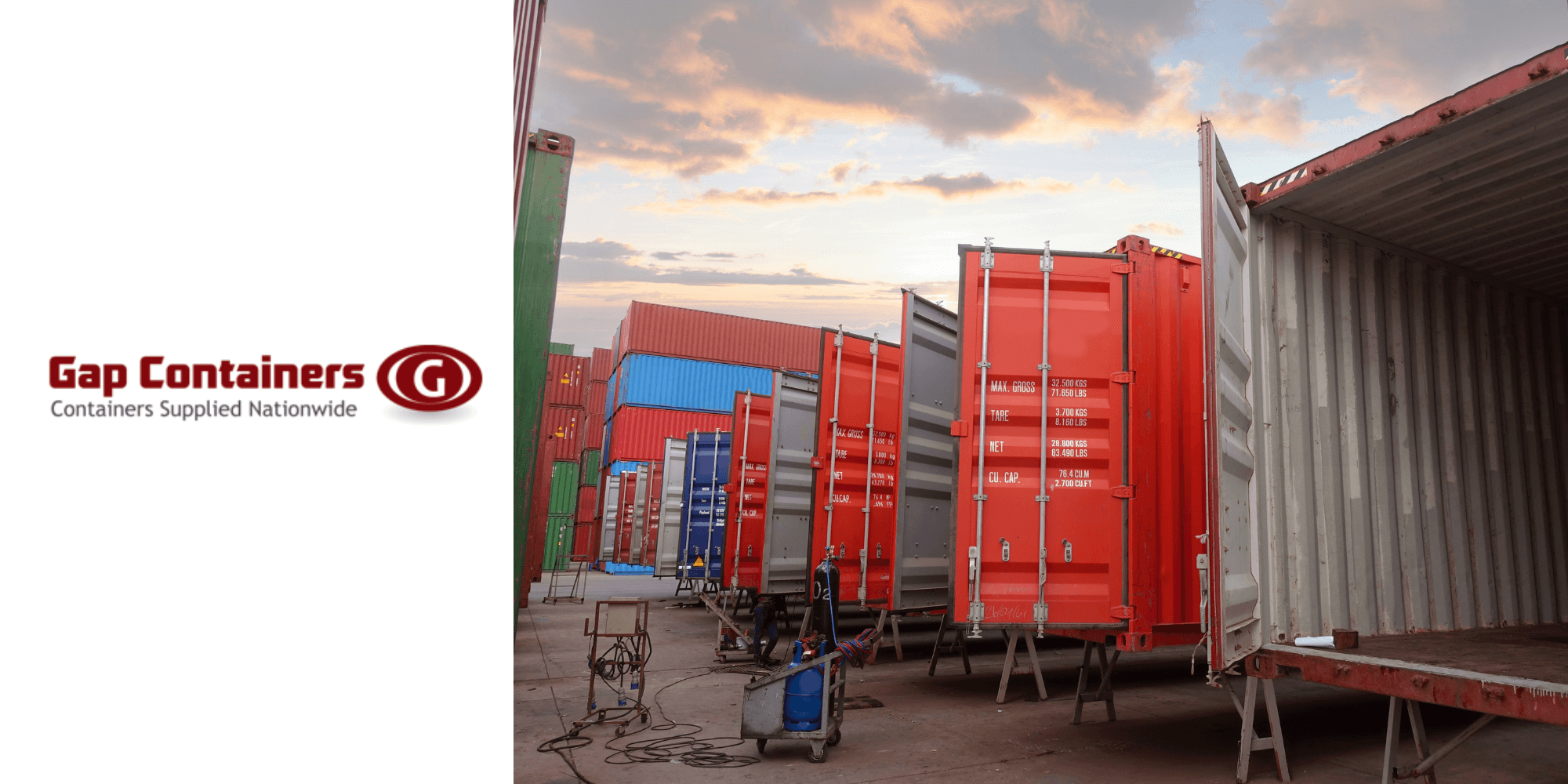 container maintenance at Gap Containers