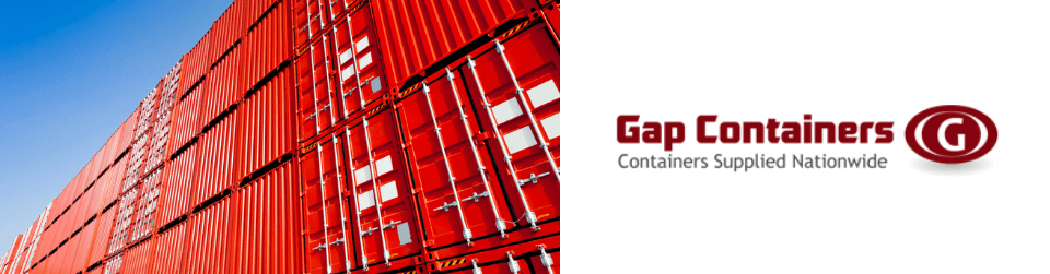 Shipping container conversions available at Gap