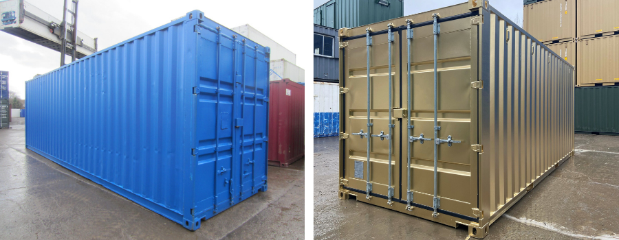 Storage containers for sale and hire at Gap Containers